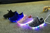 baby led light - 2017 spring Autumn Fashion Children Light Shoes Sport Shoes Baby Boys Girls Led Luminous Shoes Kids Sneakers Breathable Running Shoes