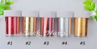 Wholesale holesale Nail Art Foil designs rolls Transfer Nail Wrap Decals DIY Without Adhesive Nail Craft Nail Decoration Tools decals patc