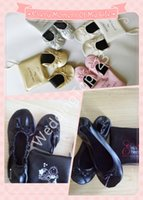 band staff - China factory production first class production lines strict staff management PU roll up shoe women foldable shoe