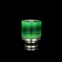bear good - New Arrival natural jade driip tip good price ntural jade ss mouthpiece wide bore drip tips for Tugboat V3 RDA