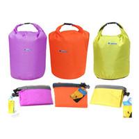 badminton kit bags - Sports Outdoor Camping Travel L Folding Portable Waterproof Bag Storage Dry Bag for Canoe Kayak Rafting Kit