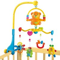 Wholesale Excellent baby bear music around the bell bell music bed Crib Bed bell hanging toys for children aged