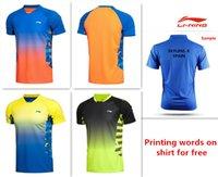 Wholesale For new badminton shirt badminton clothes table tennis shirt table tennis clothes T shirt
