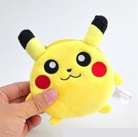 Wholesale Cute Pikachu Pet Elf Women Coin Wallet Purse Mini Bag Kids Coin Purse Pouch Women Wallets Coins Bags High Quality