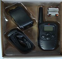 Wholesale for dogNew LCD REMOTE CONTROL LV Shock Vibra Remote Electric Dog Training Collar ZD081A