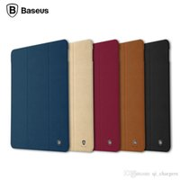 Wholesale BASEUS Terse Series Multi Function Folding Stand Tablet PU Leather Case for iPad Pro quot Smart Sleep Leather Case