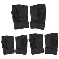Wholesale New Promotion Wrist Support WeightLifting Gym Gloves Workout Wrist WrapSports ExerciseTraining Fitness H1E1 H210673