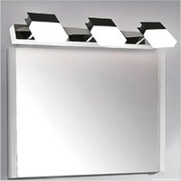 Wholesale 2016 modern led mirror light bedroom vanity wall lamp w stainless steel lights for home lighting fixtures bathroom wall lamps