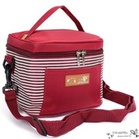 bamboo lunch box - 2016 Limited Cooler Insulated Picnic Bags Waterproof Leakproof Portable Lunch Ourdoor Bento Box Travel Carry Food Fruit Storage Tote Handbag