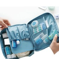 Wholesale Leisure suits for men and women travel cosmetic bag waterproof nylon high capacity storage bag organizer bags