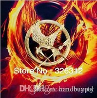 Wholesale New Fashion accessories costume Brooch Jewelry Hot Moive The Hunger Games1 Brooch Pins for Men Women Boy RJ1381 dd