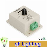 Wholesale High Quality V A W LED Strip Light lamps Switch Dimmer Brightness Controller for Flexible ligh
