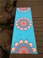 best quality yoga mat - 2016 year best quality high density full color printing anti slip natural rubber yoga mat