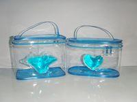 floral supplies - Waterproof Storage bags crystal bags Portable Bags supplies pattern printing makeup high quality printing tecnology