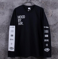 bamboo tees - New Men s Hood By Air Long Sleeve Tee Shirts Man HBA Hip Hop t shirts Been Trill Printed tshirts Men Camisetas Clothing