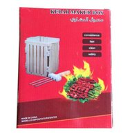 Wholesale Kebab Maker Box Stainless Steel BBQ Skewer Creative Kitchen Tools