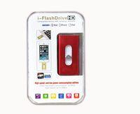 Wholesale i Flash APP Drive Phone OTG USB Flash Drive for iphone ipad lightnin Pen drive g gb gb gb iFlash Driver Micro usb