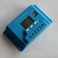 Wholesale A Dual USB Solar Charger Controller Solar Regulator Solar Charger With LCD Digital Display V V