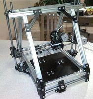 Wholesale Reprap MendelMax1 Printed Parts Set D Printer Mendelmax Plastic Parts KIT Black