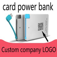 bank gift cards - Card mobile power ultra thin personalized bank card charging treasure company card gift mAh charging treasure logo custom