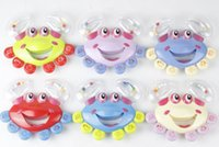 baby vision development - The newborn baby hand rattle baby crab cartoon children s vision and hearing development