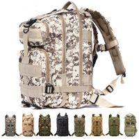 Wholesale 25L P Backpack Waterproof Outdoor Trekking Tactical Camping Military Sports Rucksacks Backpacks Classic Bag Multi Color Camouflage Bag