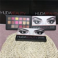 rose water - In Stock hot Chrismas Colors Huda Beauty Eyeshadow Rose Gold Textured Pallete Make up Eye shadow Palette