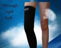 Wholesale 2016 Sports Safety kneepad Leg Fitness Anti Injured Warm Kneepad Lengthened breathable Wicking Knee Pad Sock