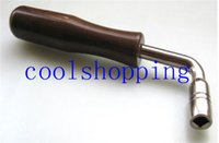 Wholesale Square Shape exquisite hard steel Piano Tuning Hammer Wrench Tuner Tool Brown shaft