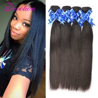 best grade mink - Brazilian Human Hair Mink Brazilian Straight Hair Weave Top Best Unprocessed Brazilian Virgin Hair Straight Bundles A Grade