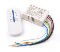 Wholesale Wireless Channels ON OFF V Remote Control Switch Digital Remote Control Switch for Lamp Light YB006 SZ