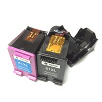 Wholesale 1set Remanufactured ink cartridge for HP61 HP61XL DeskJet s D1010 printer with Show ink level chip