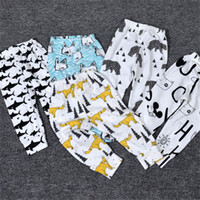 Wholesale 2016 Spring Autumn INS Pants Boys Girls Baby Trousers Harem Pant Girl Boy Kids Toddler Cartoon Clothing Children Summer Clothes