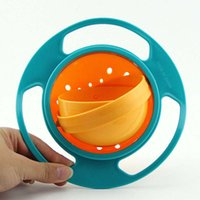 baby sprinkle - Sprinkle the bowl degrees rotation does not spill baby snacks children tableware baby bowl gyro Boxed