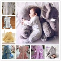 baby sleep cushion - 2016 New Hot Colors Elephant Soft Automotive Baby Sleep Pillow Baby Crib Foldable Baby Bed Car Seat Cushion