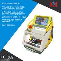 auto tool suppliers - Computerized Key Cutter multi language version SEC E9 CNC Key Cutting Machine Manufacturer smart locksmith tools suppliers