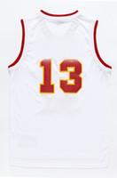 Wholesale harden White Arizona Red Star Dream Eleven Space City Baskeball climacool Jersey Swingman Replica embroidered LOGO