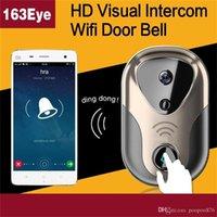 Wholesale Wireless Wifi Door bell Remote Video Camera Phone Intercom Door bell Home Security