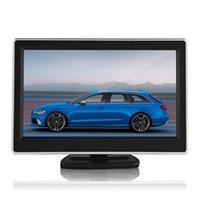Car Camera car rearview camera - 5 Inch TFT LCD Display car rearview monitor x Definition Digital Panel Color Car Rear View Monitor For Rearview Camera CMO_312
