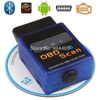Wholesale Anto mini ELM327 Vehicle HH ODB ODB2 code reader Advanced Bluetooth Car Auto for Diagnostic Scanner Tool CY B07