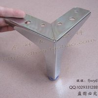 aluminum furniture legs - Sofa foot leg cabinet foot aluminum alloy table foot dining room foot adjustable cabinet foot furniture foot hardware fittings foot