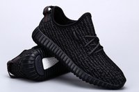 Wholesale kanye west Boost yezzys running shoes yezzy sneakers moonrock Boosts Pirate Black Oxford Tan Turtle Dove Grey shoes with Receipt