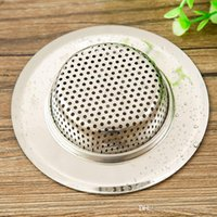 bathtub hair strainer - wb hotsale useful practical multifunctional stainless steel sink strainer for kitchen washroom bathtub hair paper
