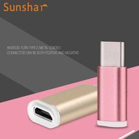 aluminium adapter - Aluminium Nylon High Quality USB Type C Male to Micro USB Female Adapter Converter Connector New For OnePlus Android Phone