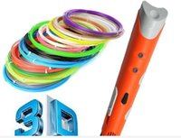 abs filament maker - New mm ABS PLA DIY Smart D Printing Pen D Pen Maker M Filament Adapter Creative Gift For Kids Drawing Design