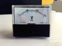 Оптово-аналогового напряжения Вольт Вольтметр метр панели DC 0-300V