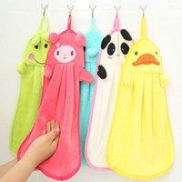 Wholesale Hand Towel Cartoon Animal Hanging Wipe Bathing Towel