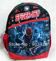 Wholesale DHL High Quality Spiderman Children s School Bag Rucksack Cartoon School Backpack G2360 on Sale