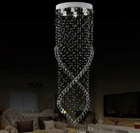 Wholesale Cheap Kitchen Fixtures - Factory Price !!! Cheap Modern Crystal Chandelier Light Fixture Crystal Light lustres for Ceiling Lamp Prompt Shipping 100% Guanrantee DHL