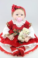 Cheap Christmas girl doll gift Best silicone reborn babies